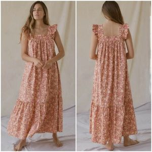 Christy Dawn Benny Vintage Floral Maxi Dress